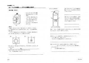 WEB物理 力学 授業プリント 浮沈子の原理と弾性体 演示実験-1