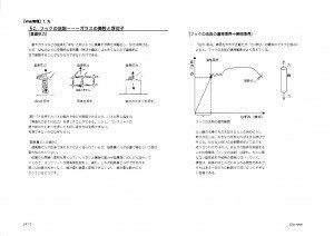 WEB物理 力学 授業プリント 浮沈子の原理と弾性体 演示実験-2